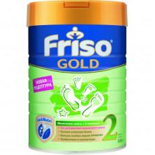 Friso Gold Молочная смесь 2, 6-12мес, 800 гр (без пальмового масла)