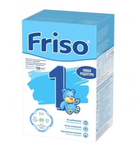 Friso Детская смесь, 1 (0-6 мес.), 700 гр