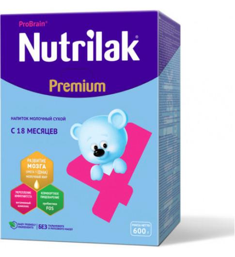 Nutrilak (Нутрилак) Премиум Молочная смесь 4, 18мес+, 600гр