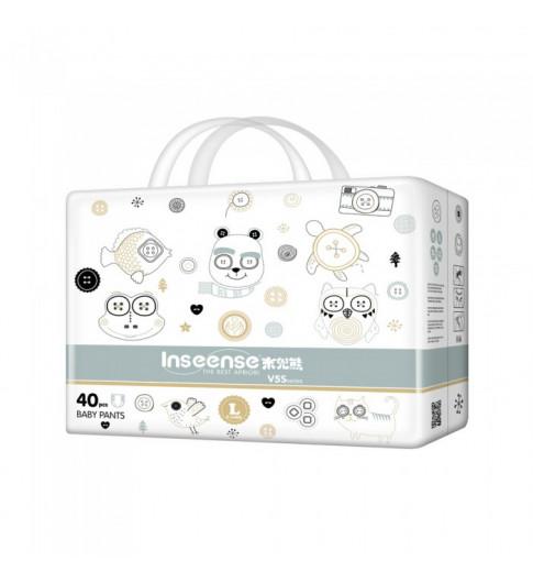 Inseense Трусики Подгузники V5 L (9-14 кг), 40 шт - стандартные