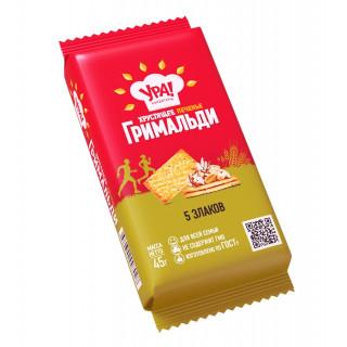 Печенье Уральские кондитеры Гримальди 5 злаков, 45 г