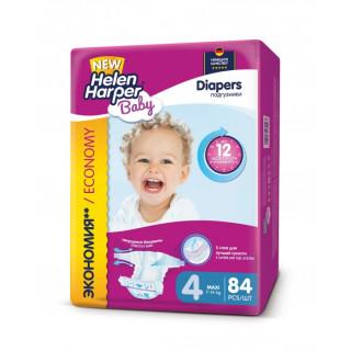 Helen Harper Подгузники Baby Maxi (9-14 кг) 84 шт