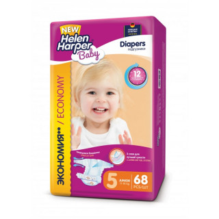 Helen Harper Подгузники Baby Junior (11-18 кг) 68 шт