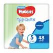 Huggies Подгузники-Трусики для мальчиков 5 (13-17 кг) 48 шт