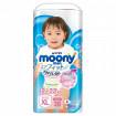 Moony Подгузники-трусики для девочек XL (12-22 кг) 38 шт Муни