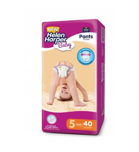 Helen Harper Подгузники-трусики Baby Junior 12-18 кг 40 шт