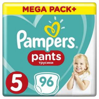 Pampers  (Памперс) Подгузники-трусики  Pants Junior р.5 (12-17 кг) 96 шт