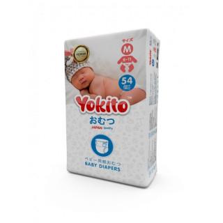 Yokito Подгузники на липучках M (6-11 кг) 54 шт Йокито