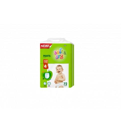 Helen Harper Трусики-подгузники Soft & Dry Maxi (9-15  кг) 72 шт Хелен Харпер