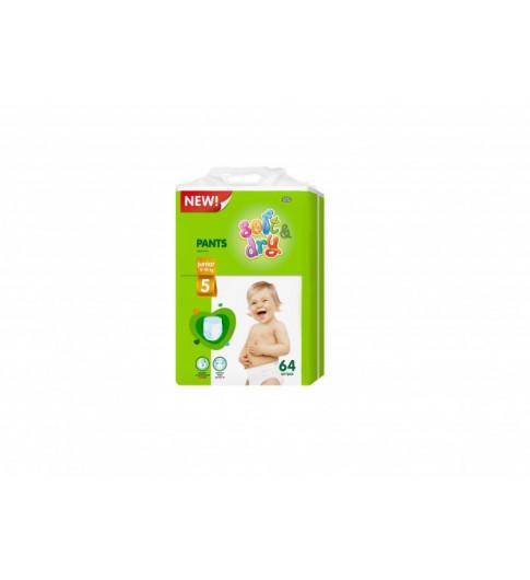 Helen Harper Подгузники-трусики Soft & Dry Junior (12-18 кг) 64 шт Хелен Харпер