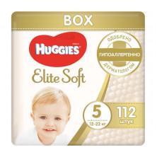 Huggies Подгузники Elite Soft Mega 5 (12-22 кг) 112 шт