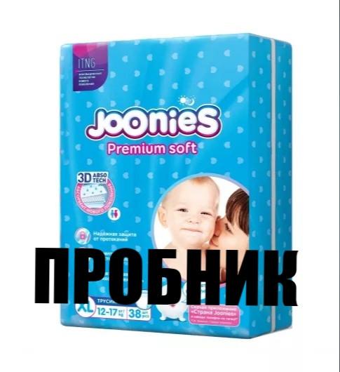 Пробник Joonies Подгузники-трусики ХL 12-17кг 2шт