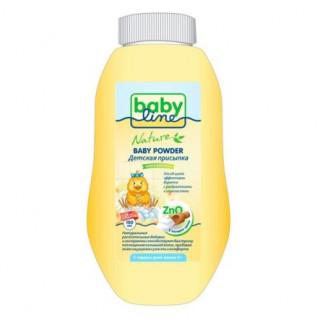 Babyline Nature Детская присыпка с сосновой пыльцой, 0мес+, 125гр