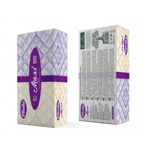 Plushe Салфетки Бумажные Maxi. 200 шт