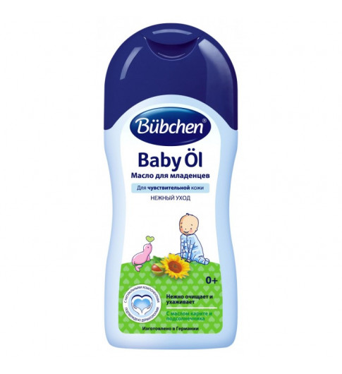Bubchen Масло для младенцев, 200 мл, 0мес+ (Бюбхен)