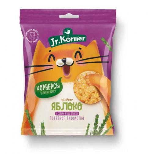 Dr. Korner Мини-хлебцы хрустящие рисовые с яблочным соком, 30 гр Корнер