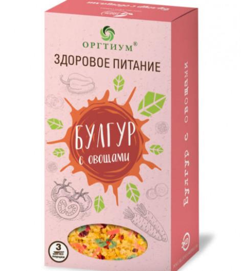 Оргтиум Булгур с овощами, 180 гр 3 порции