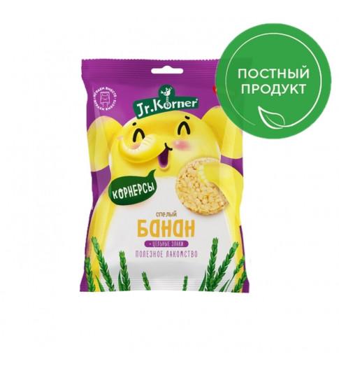 Dr. Korner Мини-хлебцы хрустящие рисовые с бананом, 30 гр Корнер