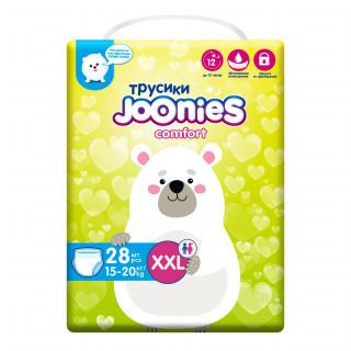 Joonies Comfort Подгузники-трусики XXL 15-20кг 28шт