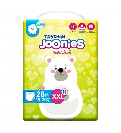 Joonies Comfort Подгузники-трусики XXL 15-20кг 28шт Джунис