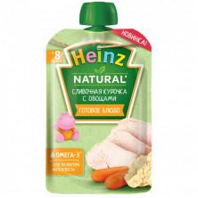 Heinz Пюре Сливочная Курочка с Овощами, 8мес+, 90 гр