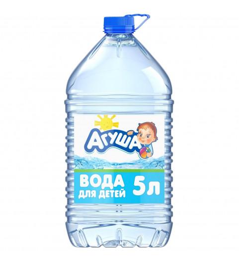 Агуша Детская вода 5 литров, 0мес+ — не требует кипячении