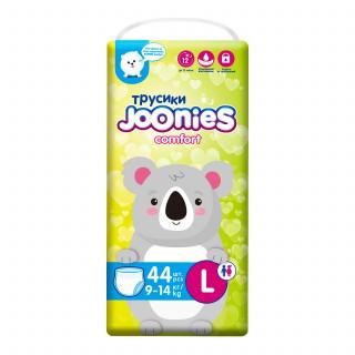 Joonies Comfort Подгузники-трусики L 9-14кг 44шт джунис