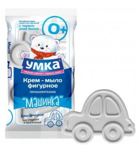 УМКА Мыло детское классическое фигурное Машинка, 60 г