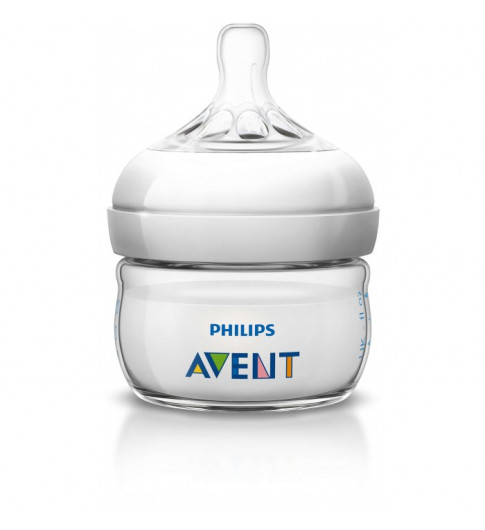 Philips Avent Бутылочка Natural 60 мл, 0 мес+