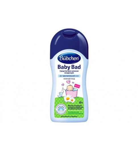 Bubchen Средство для купания младенцев, 400 мл, 0 мес+ (Бюбхен)