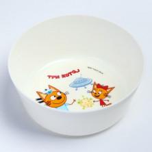 Little Angel тарелка Три Кота Космическое путешествие, 6мес+, 430 мл
