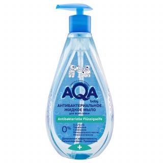 AQA baby Жидкое мыло для всей семьи, 400 мл - Антибактериальное