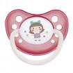 Canpol Babies Пустышка 0-6мес. силикон, анатомическая. Toys - розовая