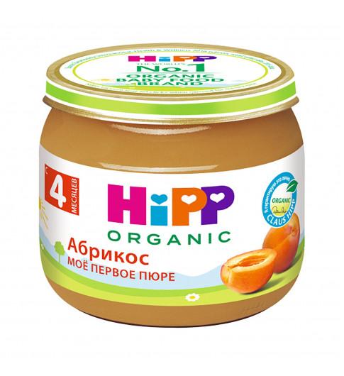 Hipp Пюре Абрикос, 4мес+, 80гр