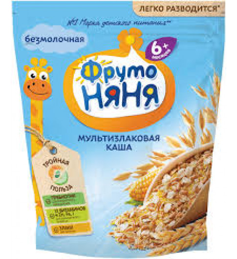 Фрутоняня Каша Безмолочная Мультизлаковая, 200 гр