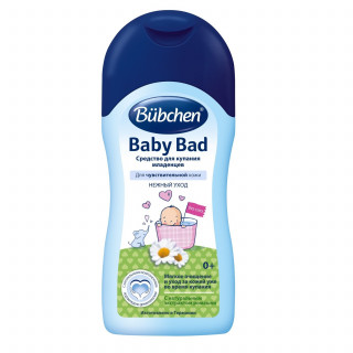 Bubchen Средство для купания младенцев, 200 мл, 0 мес+ (Бюбхен)