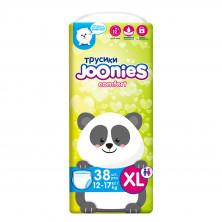Joonies Comfort Подгузники-трусики ХL 12-17 кг, 38 шт Джунис