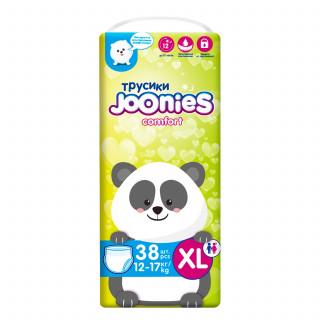 Joonies Comfort Подгузники-трусики ХL 12-17 кг, 38 шт