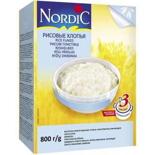 Nordic Хлопья Рисовые, 800 гр