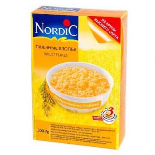 Nordic Хлопья Пшенные, 500 гр