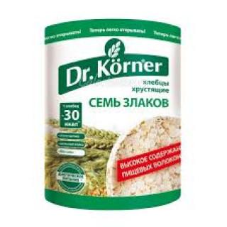 Dr. Korner  Хлебцы Семь злаков, 100 гр  корнер