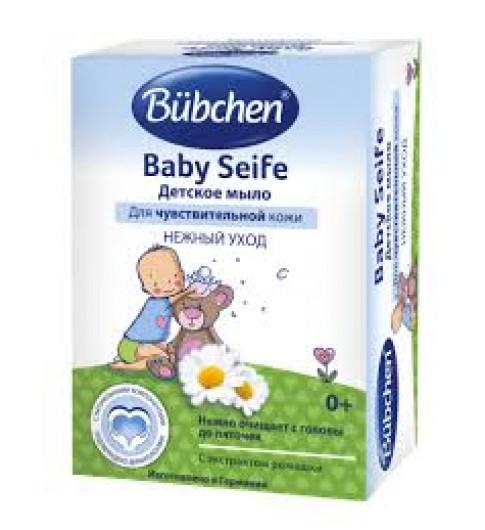 Bubchen Детское мыло для чувствительной кожи, 125 гр, 0мес+ (Бюбхен)