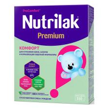 Nutrilak Premium Комфорт спец.молочная, 0-12 месяцев, 350 гр (Нутрилак)