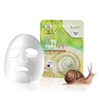 3W Clinic Тканевая маска для лица с экстрактом муцина улитки, 23 мл, 1 шт - КОРЕЯ