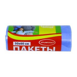 Крымпласт Пакеты для мусора 35л 30 шт. синие