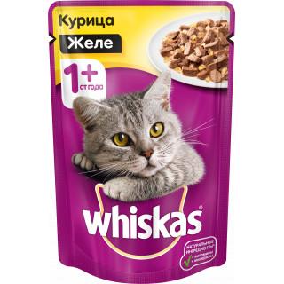 Whiskas Желе Курица , 1 год+