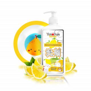 YokoSun Гель для мытья посуды, лимон, 1л (Йокосан)