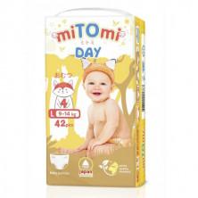 miTOmi Day Подгузники-трусики, L (9-14 кг), 42 шт Митоми