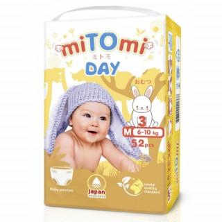 miTOmi Day Подгузники-трусики, M (6-10 кг), 52 шт Митоми