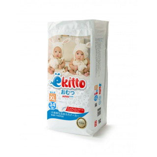Yokito Подгузники-трусики Premium «ХL» (12+кг), 34 шт Йокито НОВЫЙ ДИЗАЙН